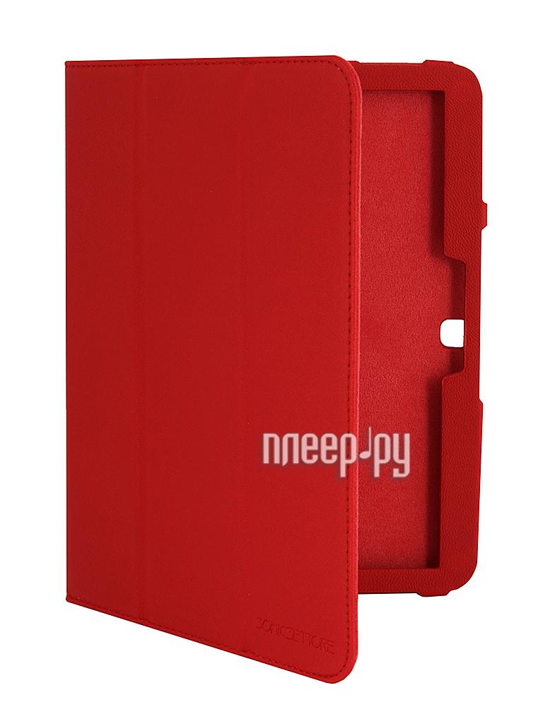 Аксессуар Чехол Samsung Galaxy Tab 3 SonicSettore Red 371087  Pleer.ru  450.000