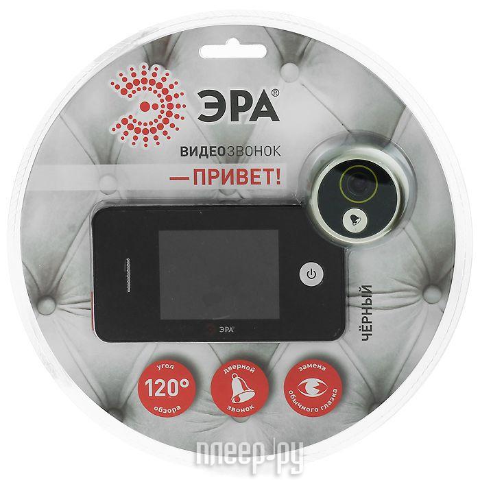 Видеоглазок Эра Привет Black  Pleer.ru  3297.000