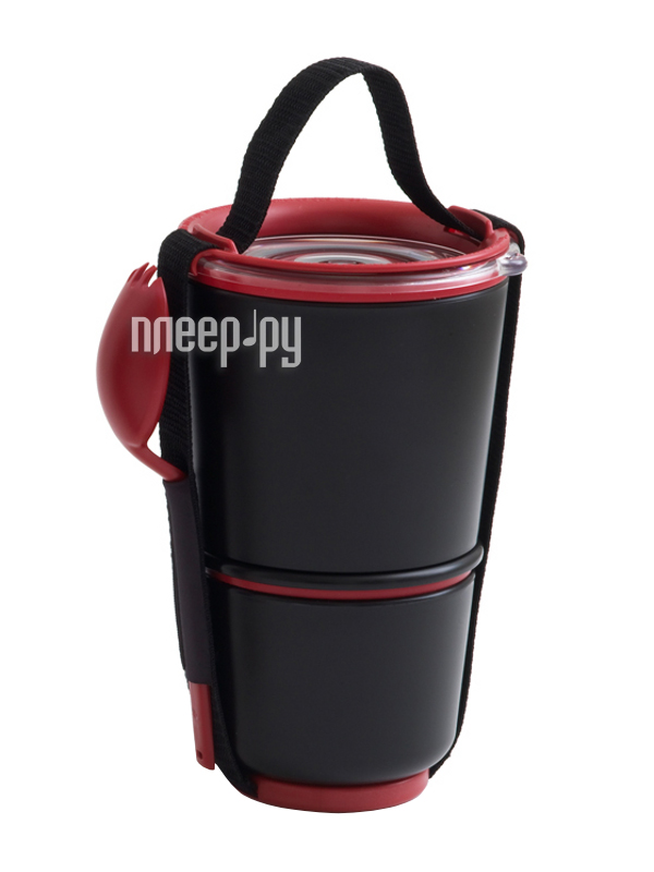Ланч-бокс Black+Blum Lunch Pot Black  Pleer.ru  1040.000
