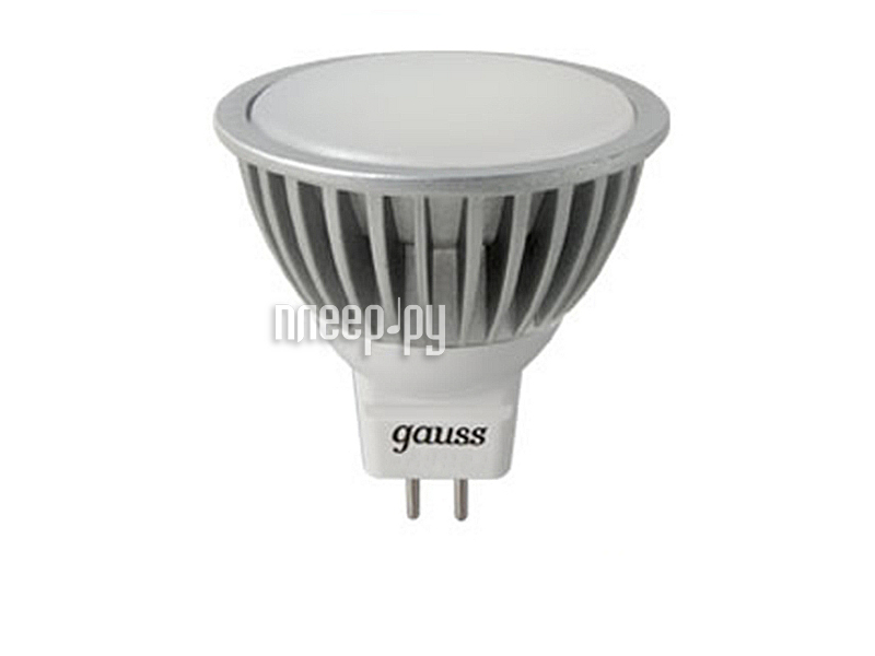Лампочка Gauss LED MR16 5W GU5.3 AC220-240V 2700K FROST EB101505105  Pleer.ru  186.000