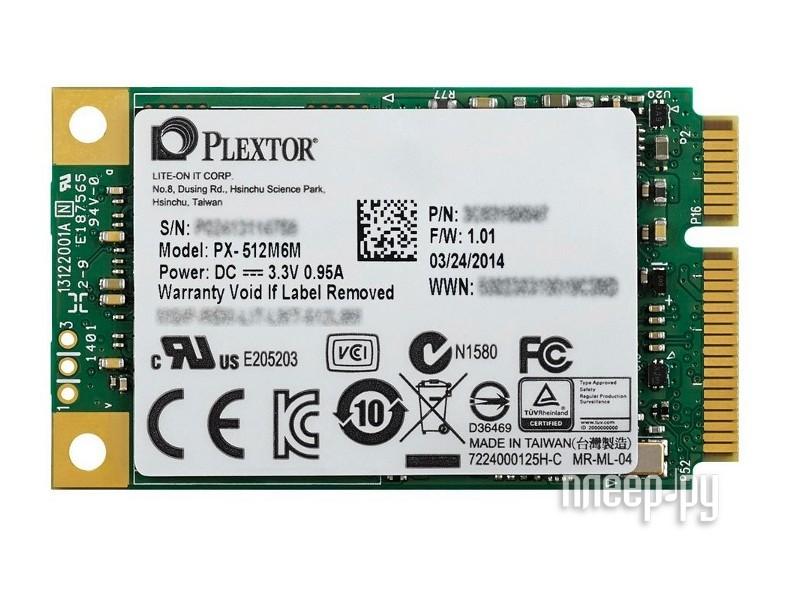 Диск SSD Plextor 512Gb PX-512M6M  Pleer.ru  11757.000