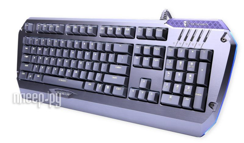 Клавиатура Tesoro Colada Saint TS-G3NL Blue  Pleer.ru  8589.000