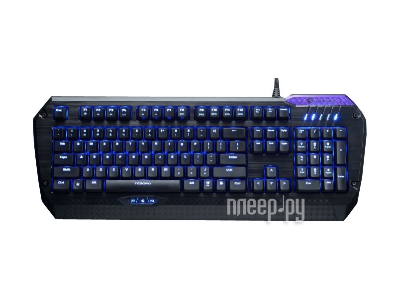 Клавиатура Tesoro Lobera TS-G5NL  Pleer.ru  3989.000