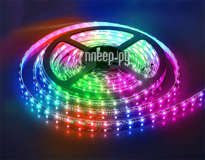Светодиодная лента LUNA LS 5050 60led/m 12V 72W 5M IP20 RGB 60035  Pleer.ru  640.000