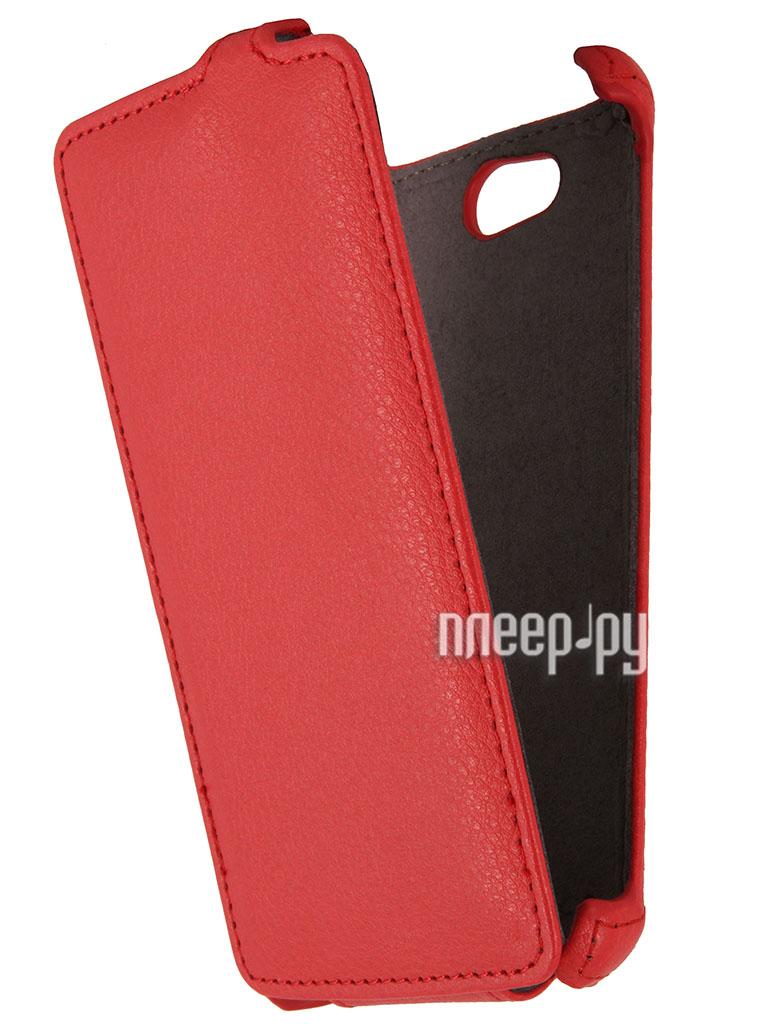 Аксессуар Чехол Philips W8510 Gecko Red  Pleer.ru  998.000