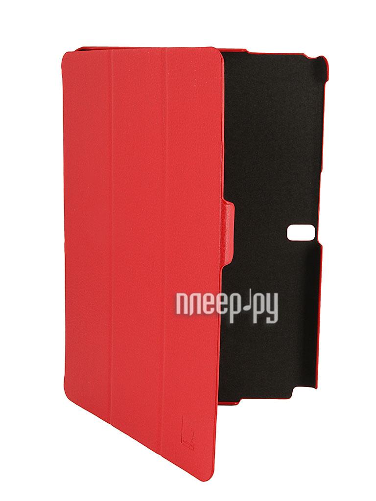 Аксессуар Чехол Samsung Galaxy Note 10.1 2014 Edition EcoStyle Shell Red esc-0032  Pleer.ru  1050.000