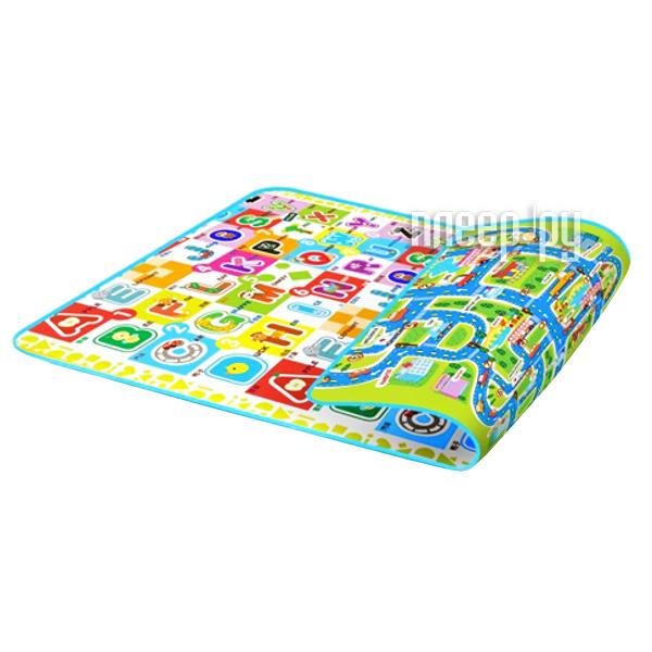 Развивающий коврик Mambobaby Город + Мир букв двухсторонний 62511  Pleer.ru  1441.000