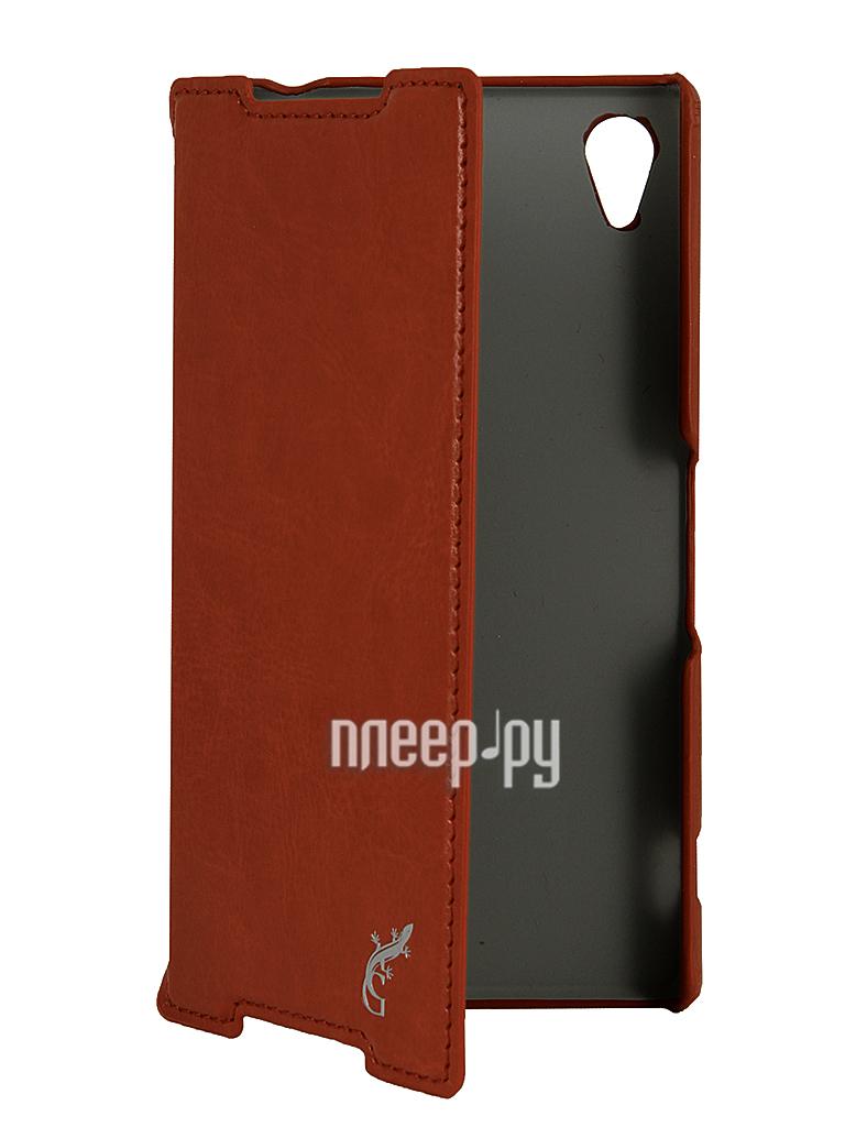 Аксессуар Чехол Sony Xperia Z2 G-Case Slim Premium Brown GG-292  Pleer.ru  1250.000