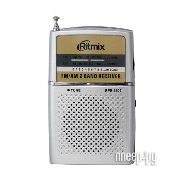 Радиоприемник Ritmix RPR-2061 Silver  Pleer.ru  197.000