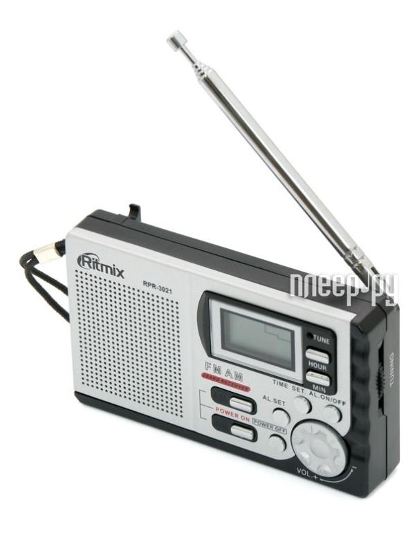 Радиоприемник Ritmix RPR-3021 Black  Pleer.ru  349.000