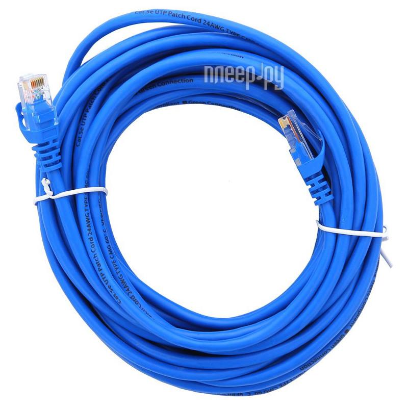Аксессуар Greenconnect UTP 5e 24awg RJ45 30m GC-LNC01-30.0m Blue  Pleer.ru  320.000