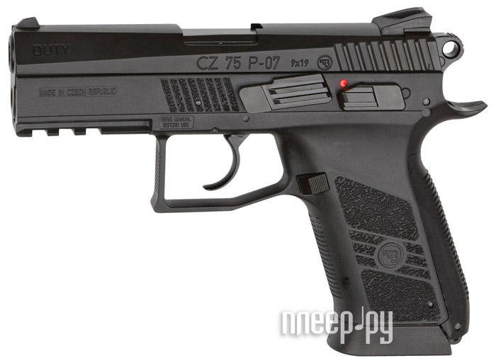 Пистолет ASG CZ 75 P-07 DUTY 16726  Pleer.ru  3510.000