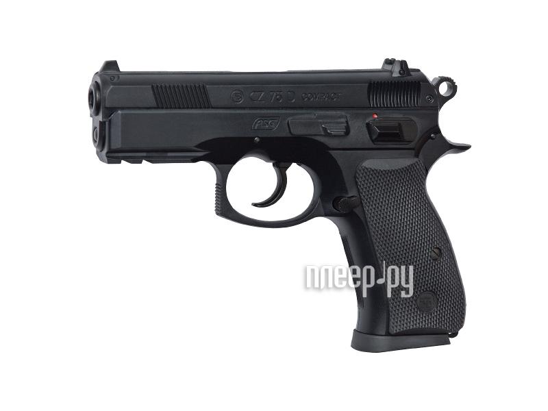 Пистолет ASG CZ 75D Compact 15698  Pleer.ru  1191.000