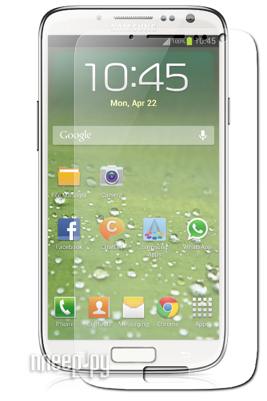 Аксессуар Стекло противоударное Samsung GT-i9500 Galaxy S4 Ainy 0.33mm  Pleer.ru  707.000