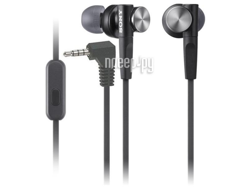 Гарнитура Sony MDR-XB50AP Black