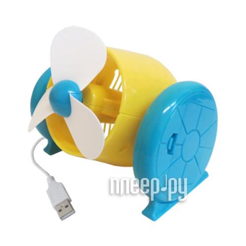 Вентилятор от USB Aikitec USBkit UFA-06-YW Propeller  Pleer.ru  425.000