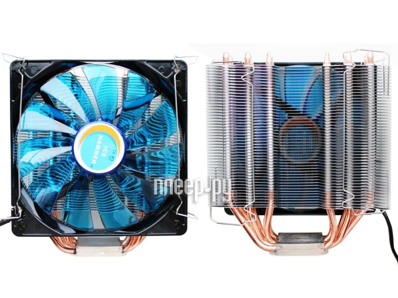 Кулер Ice Hammer IH-4800 (Intel LGA775/S1150/S1155/1156/S1356/S1366/S2011/AM2/AM2+/AM3/AM3+/FM1/S754/S939/S940)
