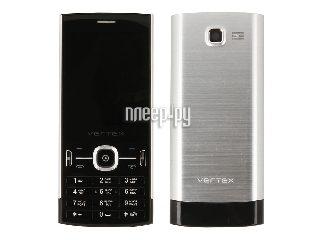 Сотовый телефон Vertex D500 Black-Metallic  Pleer.ru  987.000