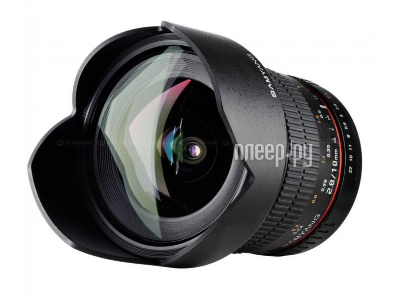 Объектив Samyang Canon M MF 10 mm F/2.8 ED AS NCS CS  Pleer.ru  17088.000