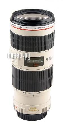 Объектив Canon EF 70-200 f 4L IS USM  Pleer.ru  45292.000