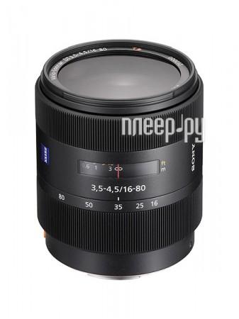 Объектив Sony SAL-1680Z 16-80 mm F/3.5-4.5 DT ZA*  Pleer.ru  27798.000