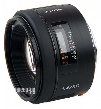 Объектив Sony 50 mm F/1.4 SAL-50F14*
