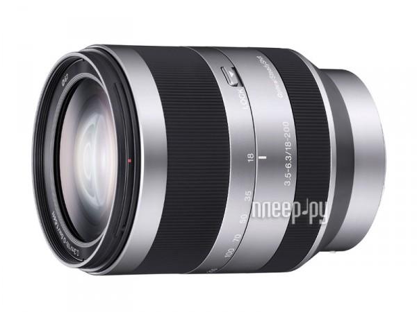 Объектив Sony SEL-18200 18-200 mm F/3.5-6.3 E OSS for NEX*  Pleer.ru  22796.000