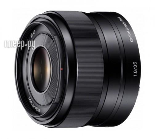 Объектив Sony SEL-35F18 35 mm F/1.8 OSS for NEX  Pleer.ru  14300.000