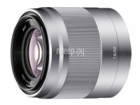 Объектив Sony SEL-50F18 50 mm F/1.8 OSS E for NEX Silver*