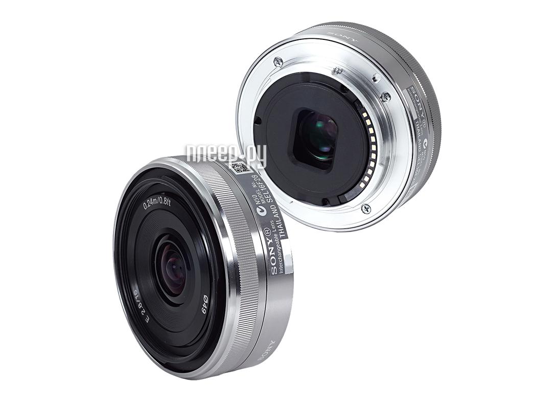 Объектив Sony SEL-16F28 16 mm F/2.8 for NEX*  Pleer.ru  8997.000