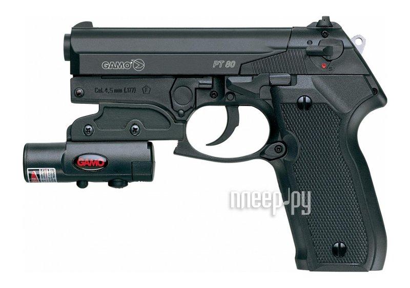 Пистолет Gamo PT-80 Combo Laser