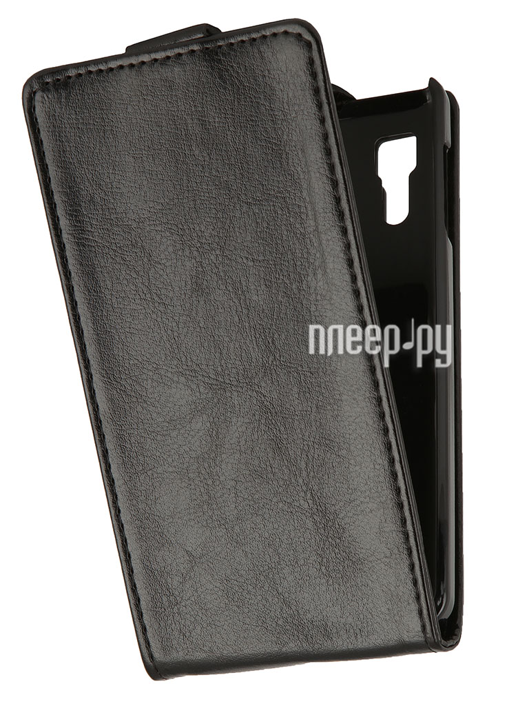 Аксессуар Чехол Lenovo P780 SkinBox Flip Black T-F-LP780  Pleer.ru  998.000