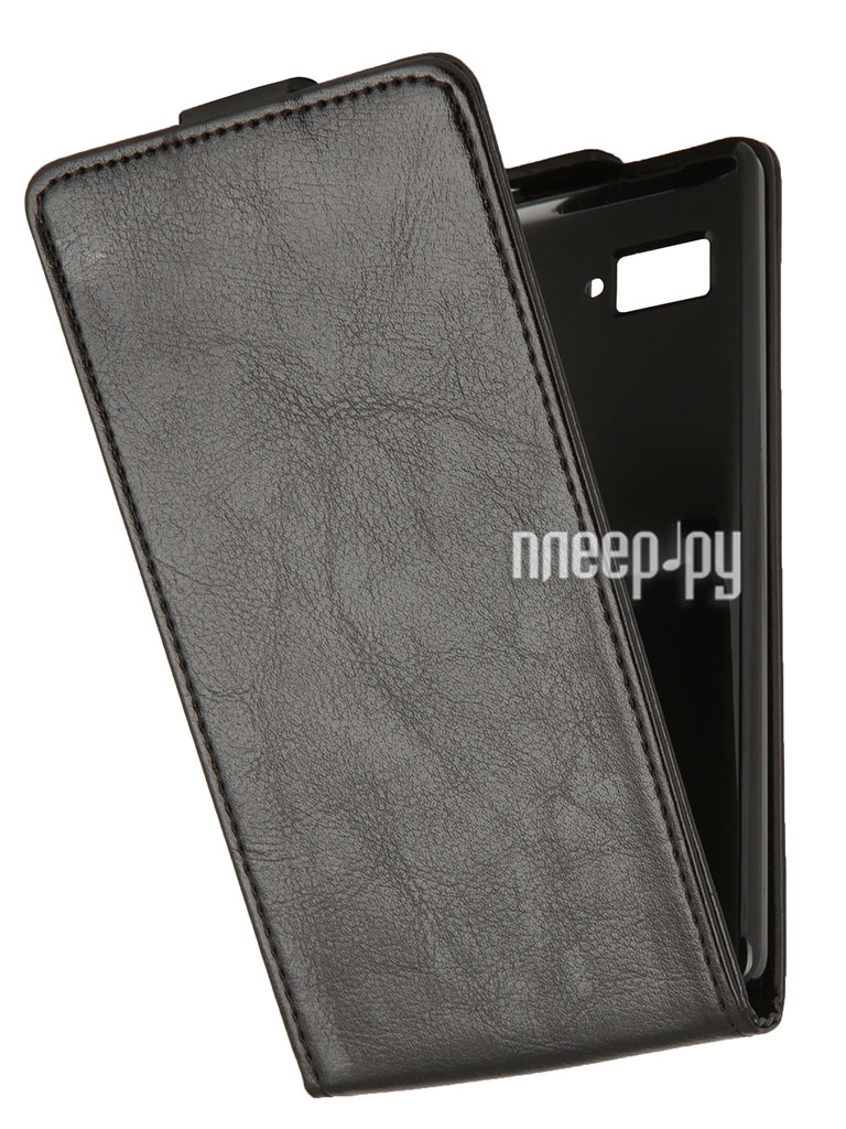 Аксессуар Чехол Lenovo K910 SkinBox Flip Black T-F-LK910  Pleer.ru  998.000