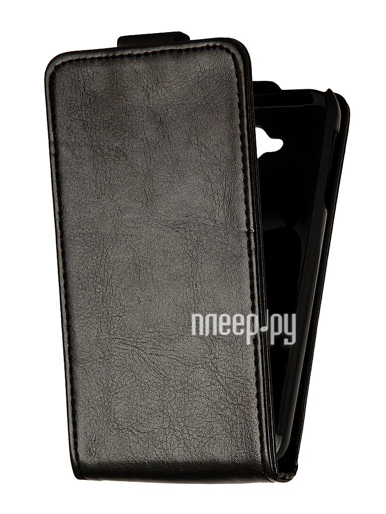 Аксессуар Чехол Lenovo A706 SkinBox Flip Black T-F-LA706  Pleer.ru  200.000