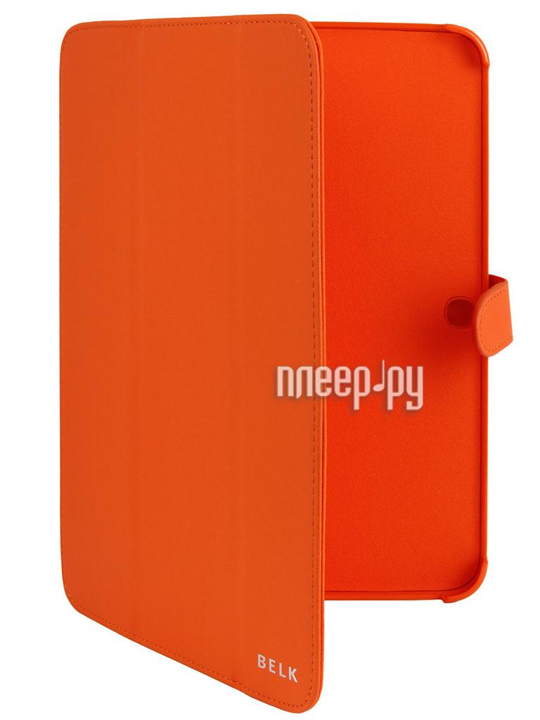 Аксессуар Чехол Galaxy Tab 3 10.0 P5200/P5210 Liberty Project BELK Orange R0000340  Pleer.ru  600.000