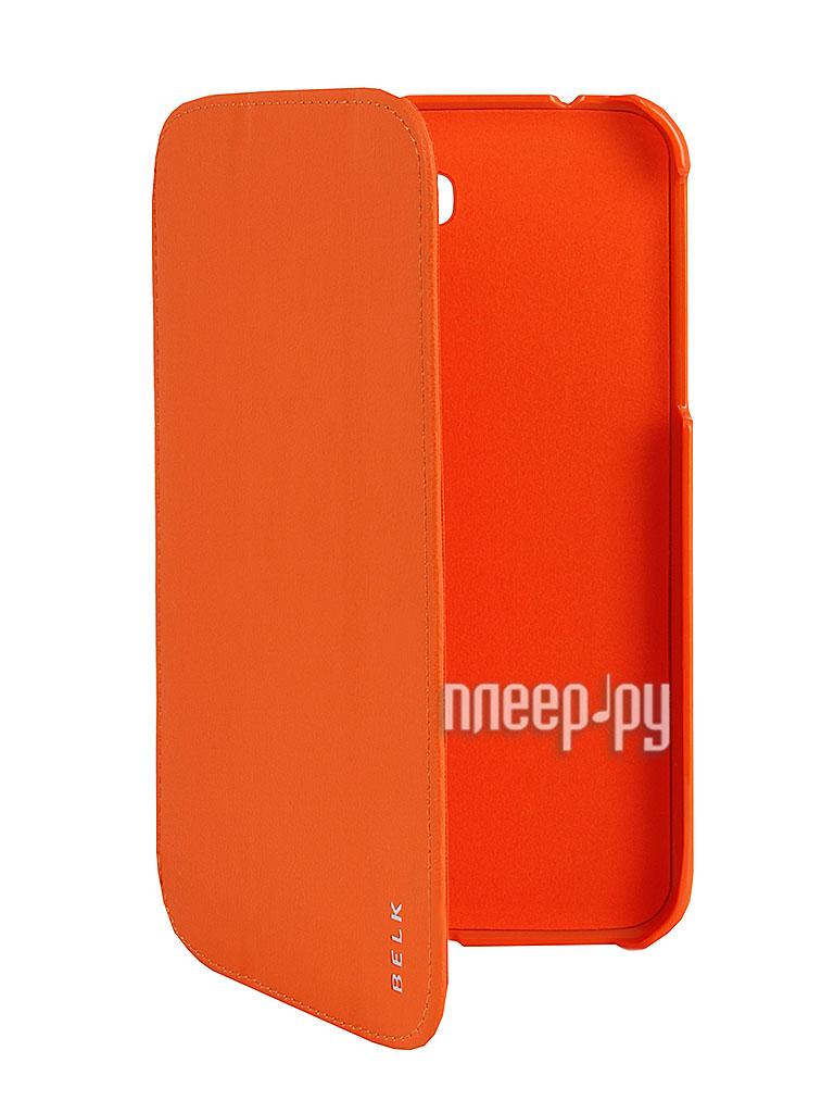 Аксессуар Чехол Liberty Project for Samsung Galaxy Tab 3 7.0 P3200 / T210 / T211 BELK Orange R0000332  Pleer.ru  998.000
