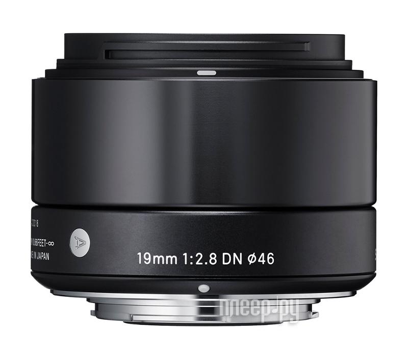 Объектив Sigma Sony E AF 19 mm F/2.8 DN ART for NEX Black
