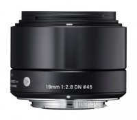 Объектив Sigma Sony E AF 19 mm F/2.8 DN ART for NEX Black