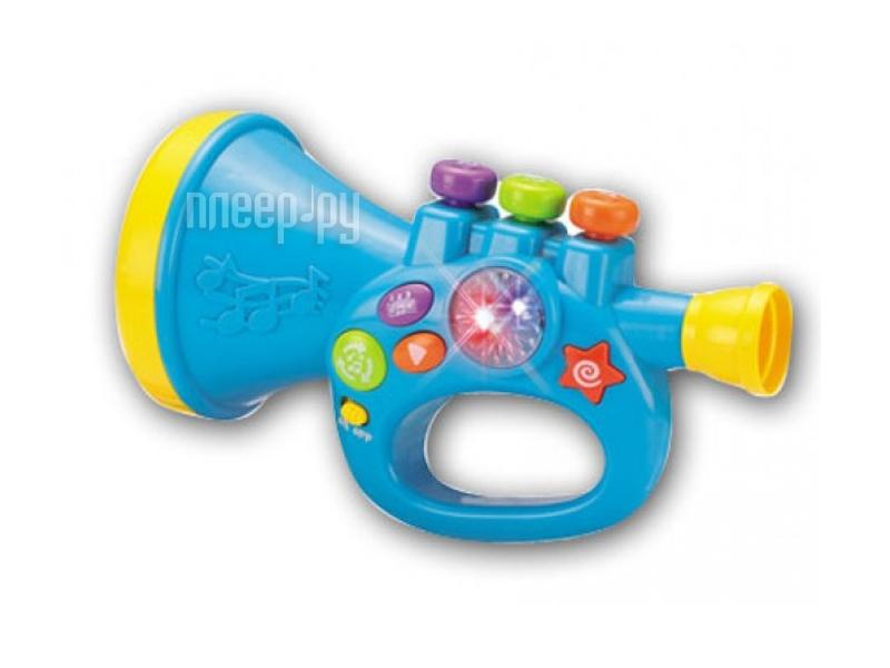 Детский музыкальный инструмент S+S toys Труба Бамбини EG80015R