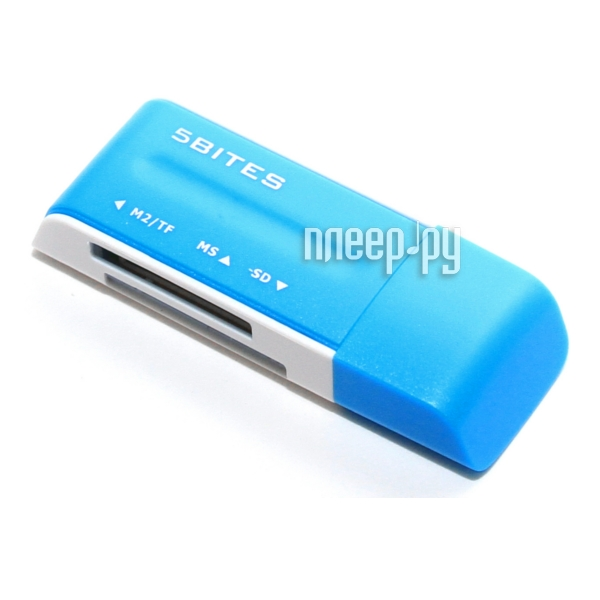 Карт-ридер 5bites RE2-102BL Blue  Pleer.ru  555.000