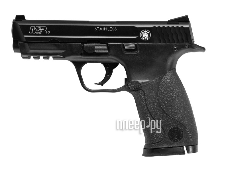 Пистолет Umarex Smith & Wesson Military & Police Black 5.8093  Pleer.ru  1750.000