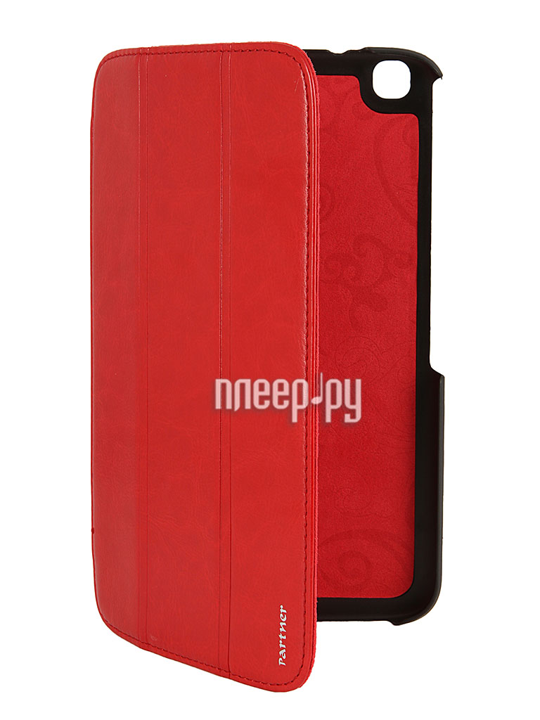 Аксессуар Чехол Samsung Galaxy Tab 3 8.0 T3100 Partner SmartCover Red  Pleer.ru  353.000