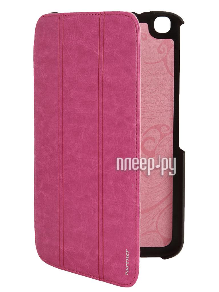 Аксессуар Чехол Samsung Galaxy Tab 3 8.0 T3100 Partner SmartCover Purple  Pleer.ru  854.000