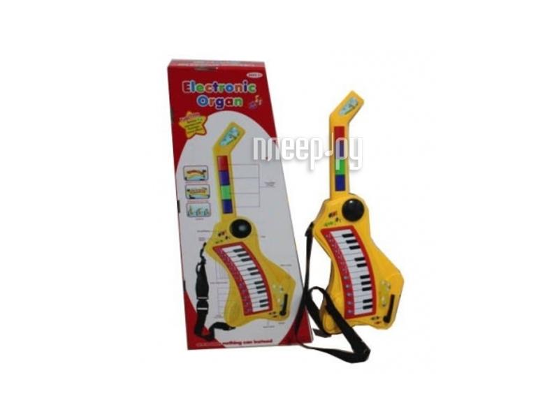 Детский музыкальный инструмент Shantou Gepai Гитара-орган 013  Pleer.ru  839.000