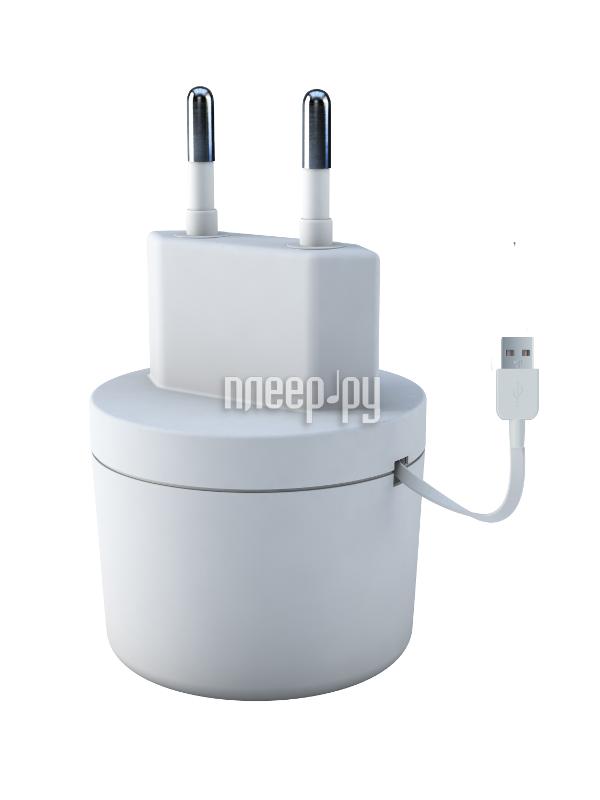 Зарядное устройство Vertex Slim Line microUSB 1000mA+2100mA со смоткой, сетевое White TCRSMICROUSBW  Pleer.ru  900.000