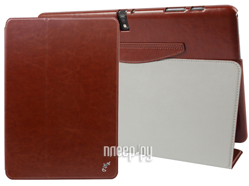 Аксессуар Чехол G-Case for Samsung Galaxy Tab Pro 12.2 T900 / Galaxy Note Pro 12.2 P9000 Slim Premium Brown GG-287  Pleer.ru  1201.000