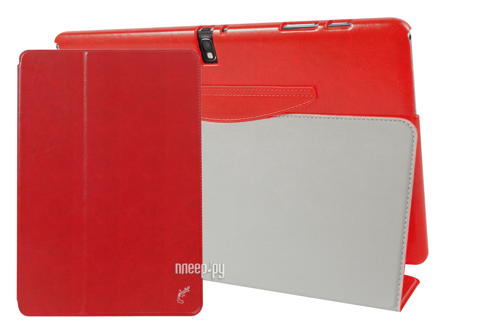 Аксессуар Чехол G-Case for Samsung Galaxy Tab Pro 12.2 T900 / Galaxy Note Pro 12.2 P9000 Slim Premium Red GG-319  Pleer.ru  1201.000