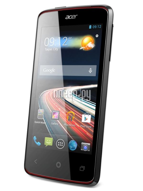 Сотовый телефон Acer Liquid Z4 Z160 Black  Pleer.ru  3908.000