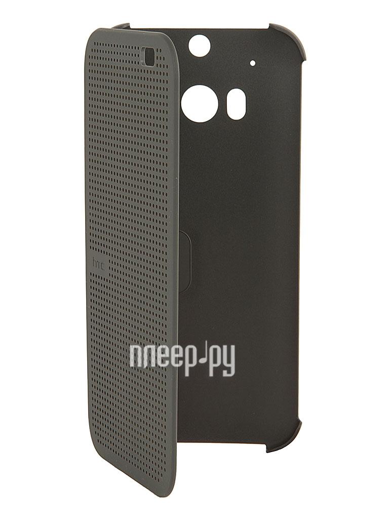 Аксессуар Чехол HTC One M8 HC M100 Gray  Pleer.ru  1860.000