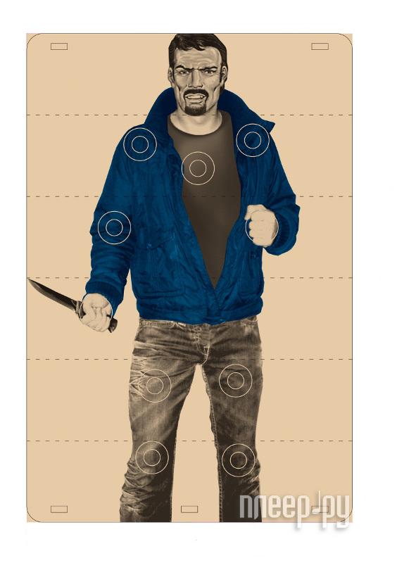 Мишень Хулиган с ножом  Pleer.ru  254.000